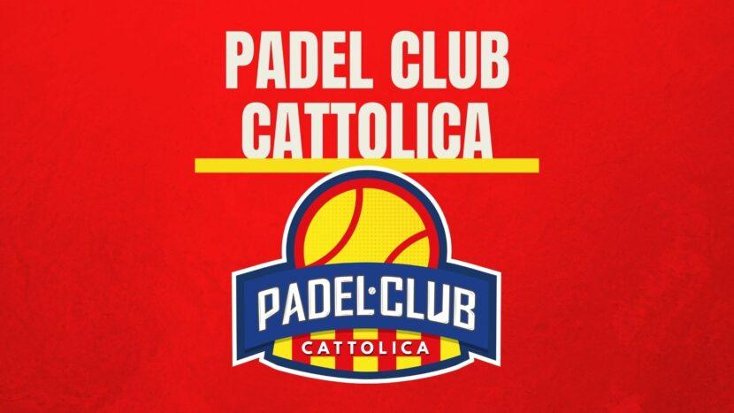 Padel Club Cattolica: ecco il nostro logo